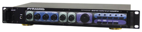 New Pyramid PR2500 Stereo Control Pre-Amplifiers