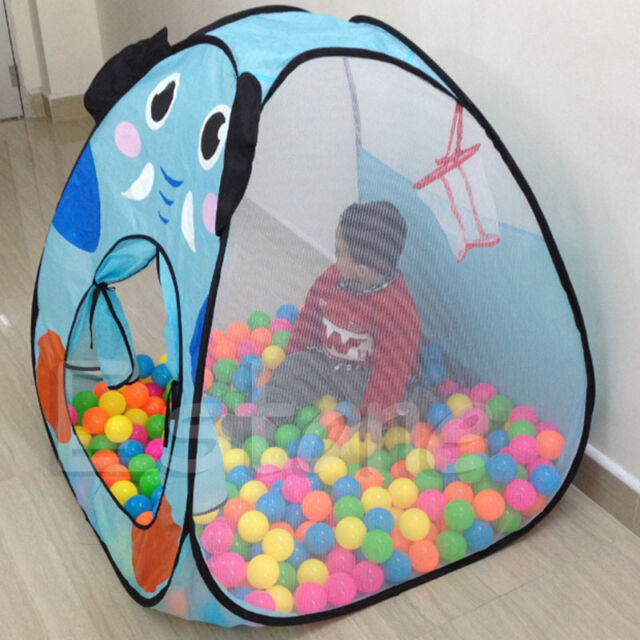 Foldable Kids Baby Children Ocean Ball Pit Pool Tent Play Toy Tent House Play