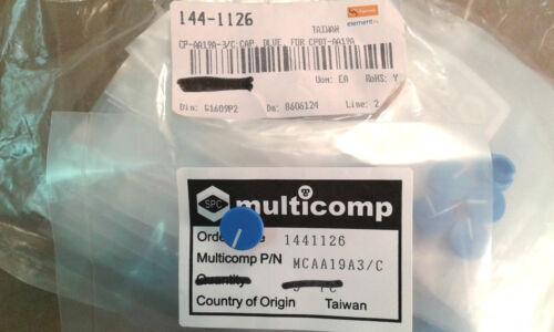 Plastique bouton de commande cap multicomp CP-AA19A-x//C pour cpbt-AA19A différentes couleurs