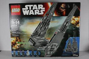 *NO MINIFIGURES* NEW AUTHENTIC LEGO Star Wars 75104 Kylo Ren/'s Command Shuttle