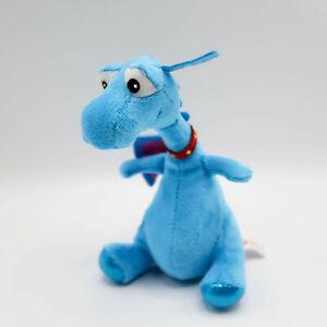 "Stuffy Doc McStuffins Plush Blue Dragon 9/"" Beanbag Disney Stuffed Toy Doll"