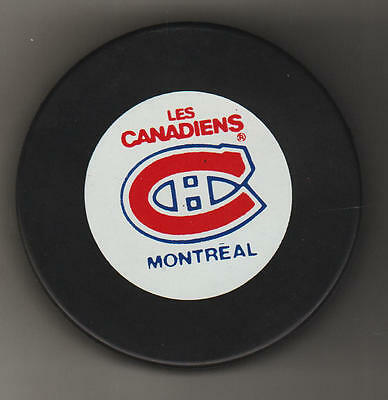 Montreal Canadiens NHL Official Hockey In Glas Co Gil Stein Game Puck Les HABS