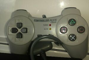 sony-playstation-1-Controller-Plus-aftermarket-model-with-turbo-slow-mo-modes