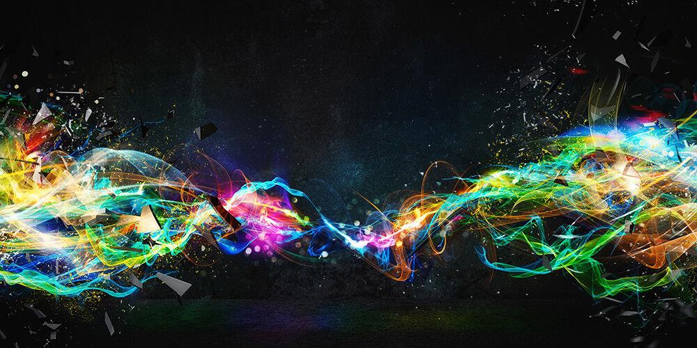 Fototapete Abstrakt Lichter Farben - Kleistertapete oder Selbstklebende Tapete