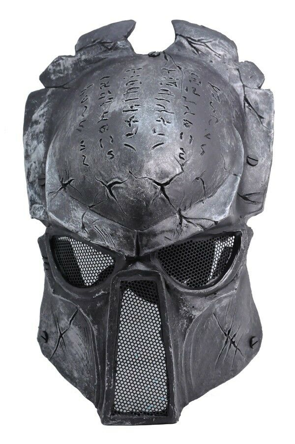 Paintball Airsoft Full Face Predection Alien Vs Predator Mask Cosplay Prop A646