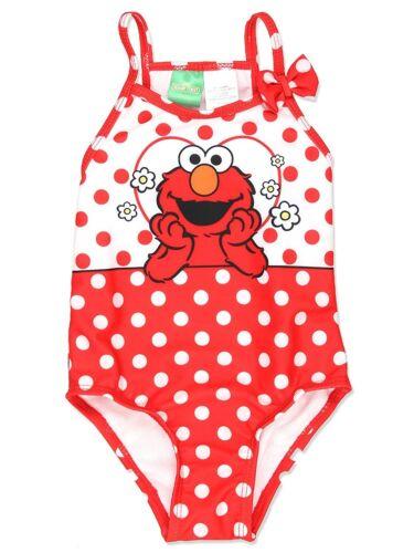 Baby//Toddler Sesame Street Elmo Girls Swimwear Swimsuit