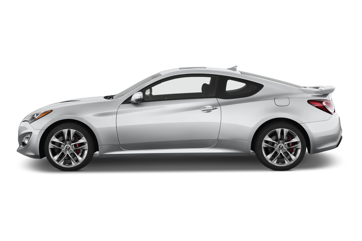 Hyundai Genesis Coupe side view