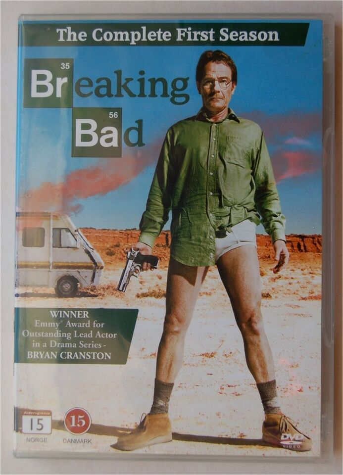 BREAKING BAD 1. season, DVD, TV-serier