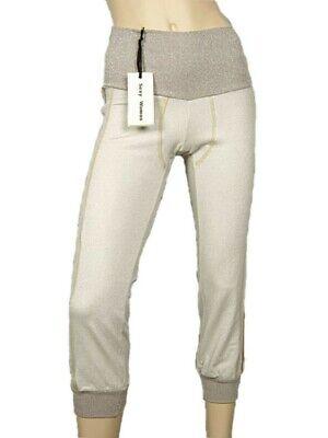 Soleggiato Leggings Donna Capri Sexy Woman Tg.40 Cotone Lurex Stretch Original Sexy New Garanzia Al 100%