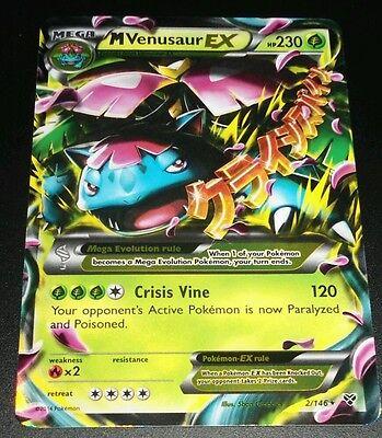 Mega Venusaur EX XY 1//146 *Mint*NM