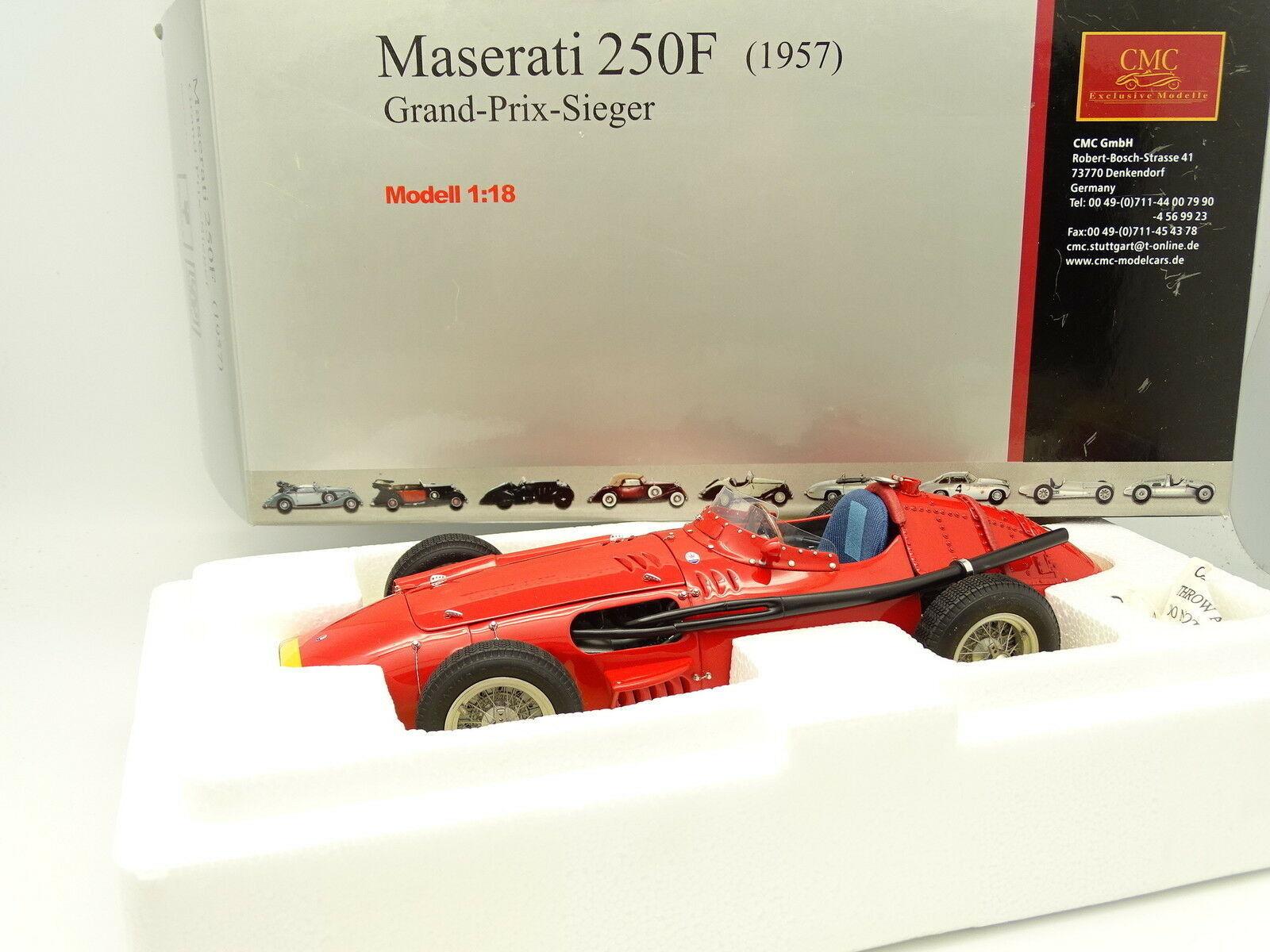 Cmc 1 18 - Maserati 250f 1957 Gran Precio Ganador