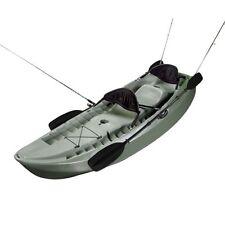 New Lifetime 10-foot Sport Fishing Kayak 90121 Fisher Tandem Kayak (Olive Green)