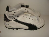 Youth Puma Nevis Cat R Hg Soccer Cleats Size 2.5 Nwb