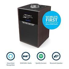 Amazon Alexa Smart Speaker DAB/DAB+ Spotify Connect Bluetooth Dual Alarm Clock