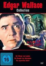 EDGAR WALLACE Collection WÜRGER VON LONDON Mysteriöse Schiff .. DVD Box EDITION