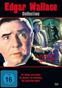EDGAR-WALLACE-Coleccion-WURGER-DE-LONDON-Misterioso-Barco-Caja-de-DVD-EDICIoN