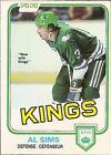 1981 O-PEE-CHEE Al Sims #131 Hockey Card