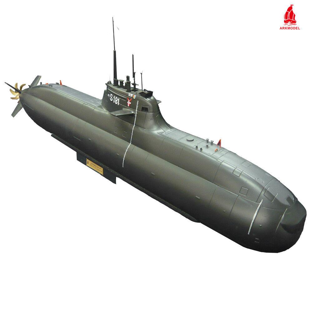 Arkmodel 1 48 U31 (Type 212A) Aip Submarine Including Single Pump Tank WTC KIT