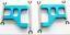 Actualizacion-de-Metal-de-Aluminio-Hagalo-usted-mismo-piezas-apto-para-1-10-Tamiya-CC01-4WD-Radio miniatura 8