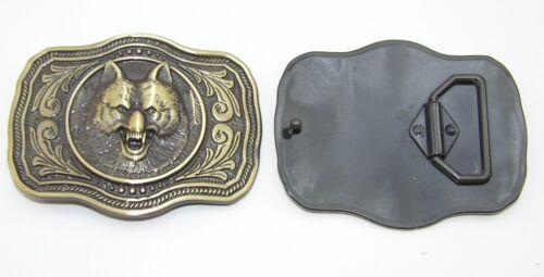 1 Fibbia Cintura Fibbia Fibbia 4 cm Altmessing LUPO 00.114/757