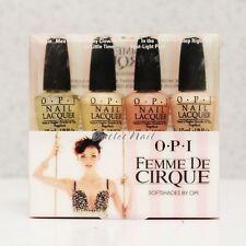OPI MINI SOFT SHADES Famous Nail Lacquer Set 4 Kit - OPI Femme De Cirque
