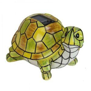 Image Is Loading Solar Turtle Statue Garden Art Led Light Outdoor