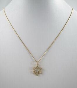 Luxurioese-750er-Gold-Halskette-mit-Anhaenger-Brillant-Edelstein-18K-8-65-Gramm