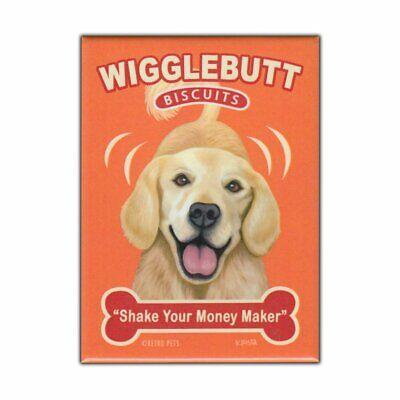 Scribble Paw Dog Magnets I LOVE MY GOLDEN RETRIEVERCars Refrigerators