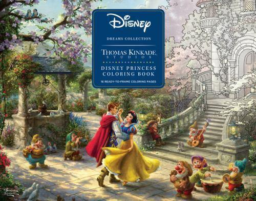 Disney Dreams Collection Thomas Kinkade Studios Disney Princess Coloring  Book By Thomas Kinkade (2019, Trade Paperback) For Sale Online EBay
