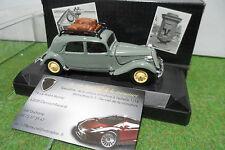 CITROËN TRACTION 15CV 1932 au 1/43 de VEREM V459 voiture miniature de collection