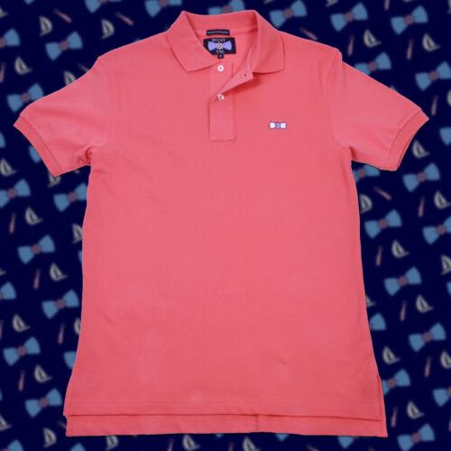 "NWT Southern /""Boat Tie/"" Polo Vineyard Cotton Tide Vines Shirt SALMON 3XLARGE 3XL"