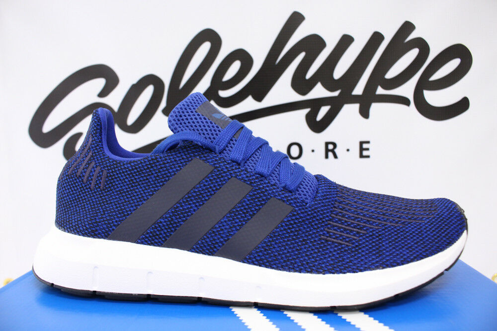 ADIDAS SWIFT RUN PK ROYAL blueE WHITE PRIMEKNIT RUNNING SHOE CG4118 SZ 13
