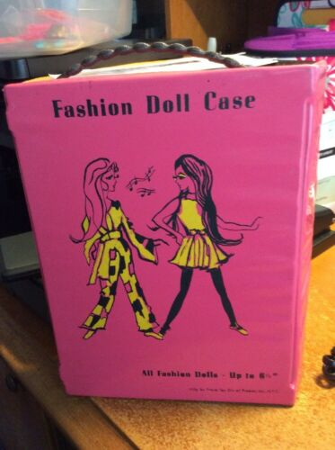 Dawn Doll, Fashion Doll Case In Good Cond.