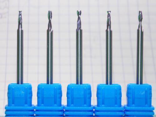 CENTER CUTTING HIGH COBALT /% FLAT ENDMILL 5x 2MM X 50MM 2-FLUTE HSS