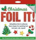 Christmas Foil It Foam Sticker Activity Kit by Peter Pauper Press.