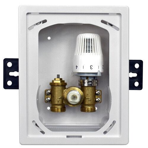 RTL box Unibox 3//4 Rücklauftemperaturbegrenzer Thermostat Ventil Fußbodenheizung