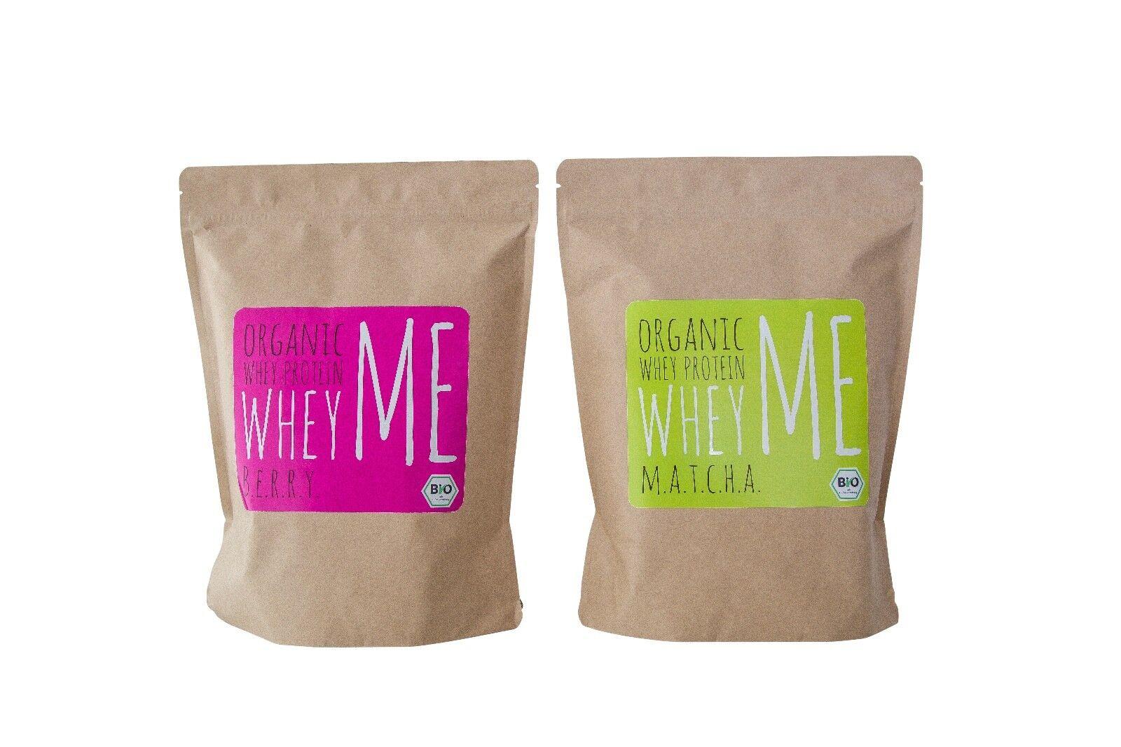 Biomolke protein - Whey me Berry & Matcha 2x 750 g