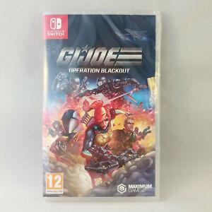 Nintendo Switch - GI G.I. Joe Operation Blackout NEW SEALED (Damaged box)