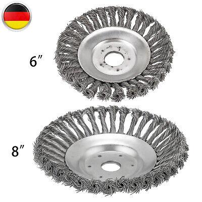 6 Zoll Trimmerkopf Rundbürste Motorsense Unkrautbürste Rasentrimmer Kopf DE