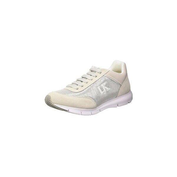 Lumberjack Kara, zapatos Low-Top mujer, plata (Ca004 Ice)