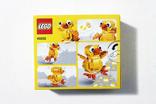 Exclusive* LEGO 40202 Easter Chick SET Seasonal Toy RETIRED 2015 Chicken