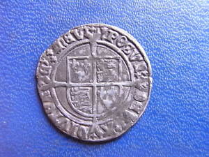 Henry VIII silver Groat 1526-44 Second coinage mm Arrow