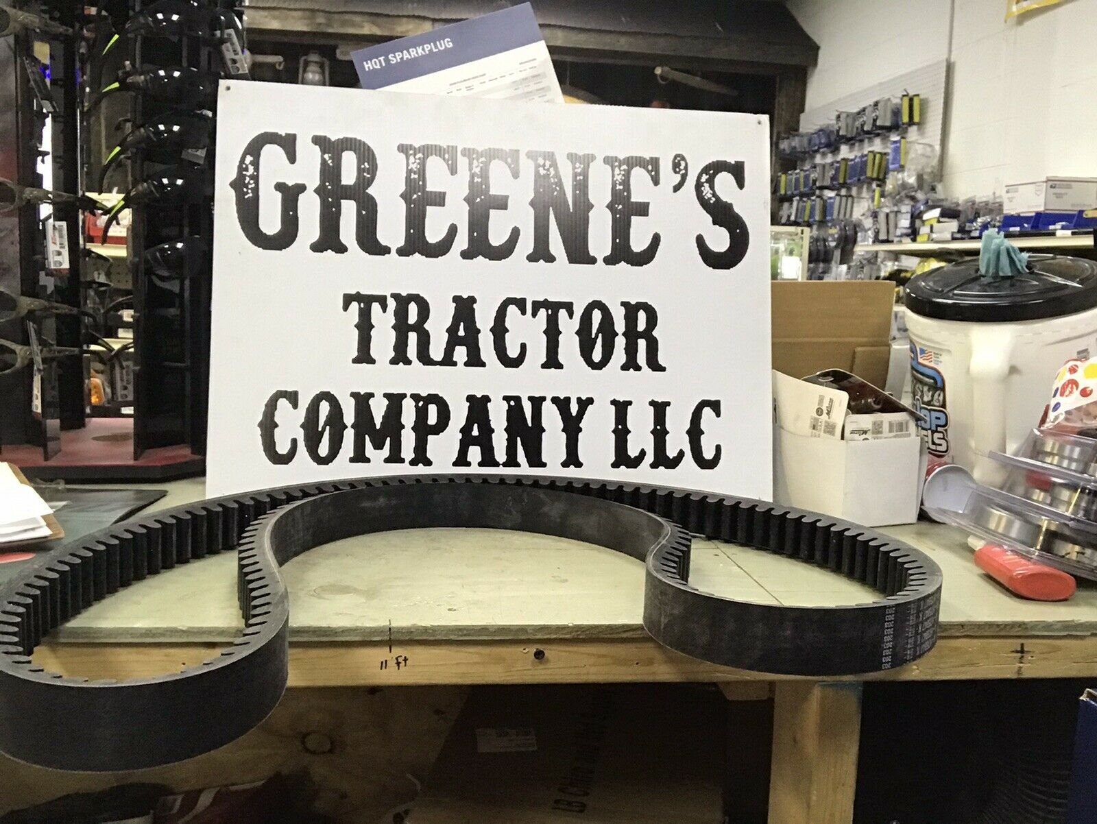 John Deere 4400 4420 And 6600 Combine Propulsion Belt For Sale Online