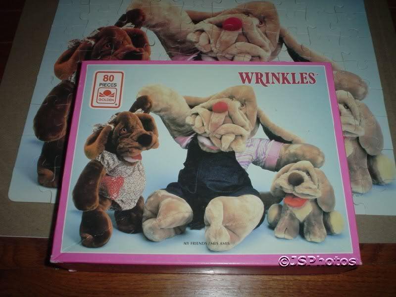 Ganz falten puzzle 1984 meine freunde   1 set