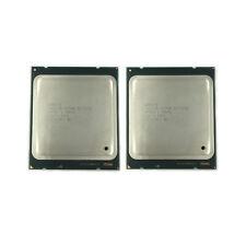 2pcs Intel XEON E5-2650 2.0 Ghz 8 Core 20M SR0KQ Socket 2011 CPU MATCHING PAIR