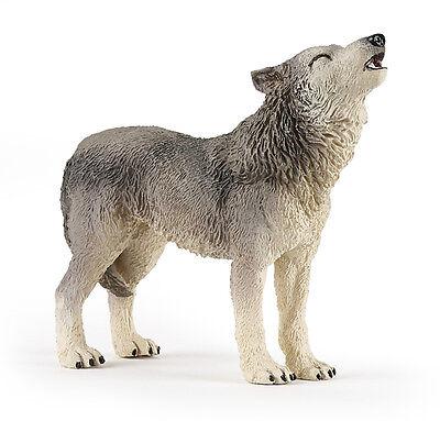 Papo 50171 Howling Wolf Wolferin Wild Animal Model Figurine Toy - NIP