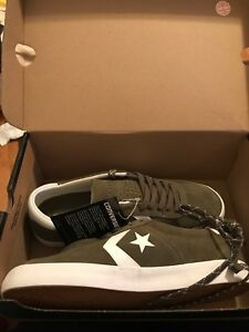 661c83d339734a Image is loading Converse-BreakPoint-Pro-OX-Unisex-Skateboard-Sneakers -Olive-