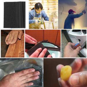 Details About 2 10pcs Grit Dry Wet Sandpaper Abrasive Sanding Paper Diy Car Paint Tool