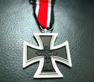 NEW-GERMAN-IRON-CROSS-MEDAL-1939-WW2-2ND-CLASS-REPRO-Eisernes-Kreuz-ARMY-BADGE