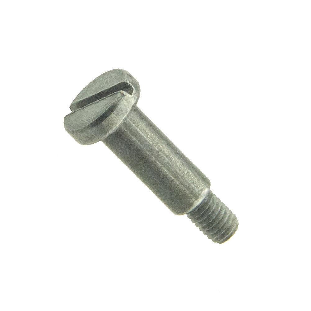 Flachkopfschrauben mit Schlitz und Ansatz o. Freistich DIN 923 4.8 5.8 Stahl bl.